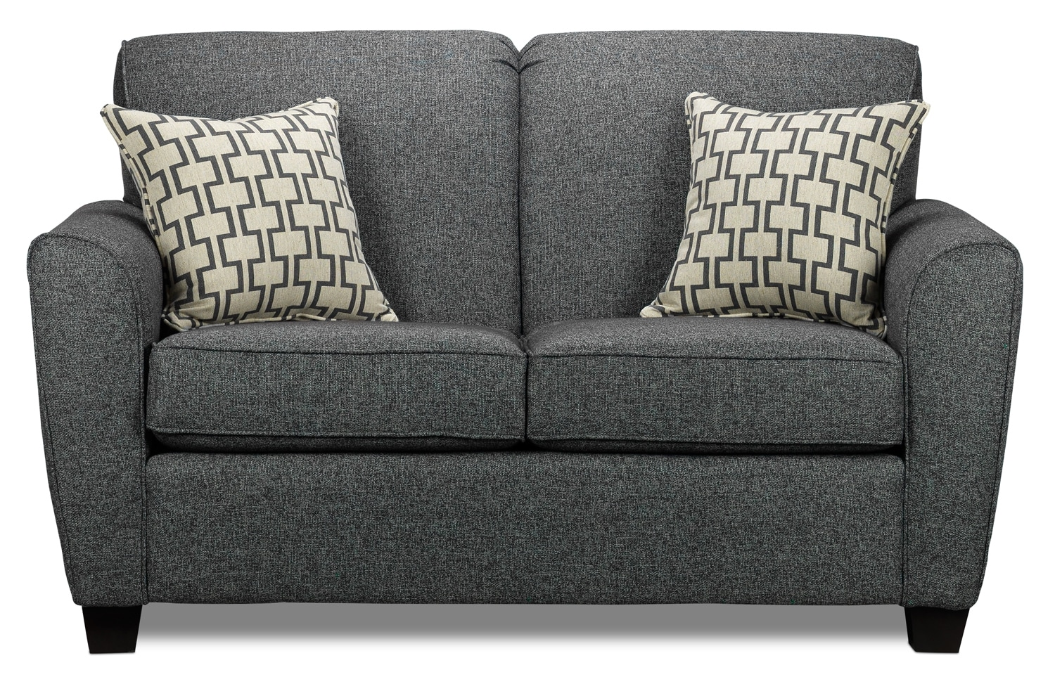 Living Room Furniture - Ashby Loveseat - Grey
