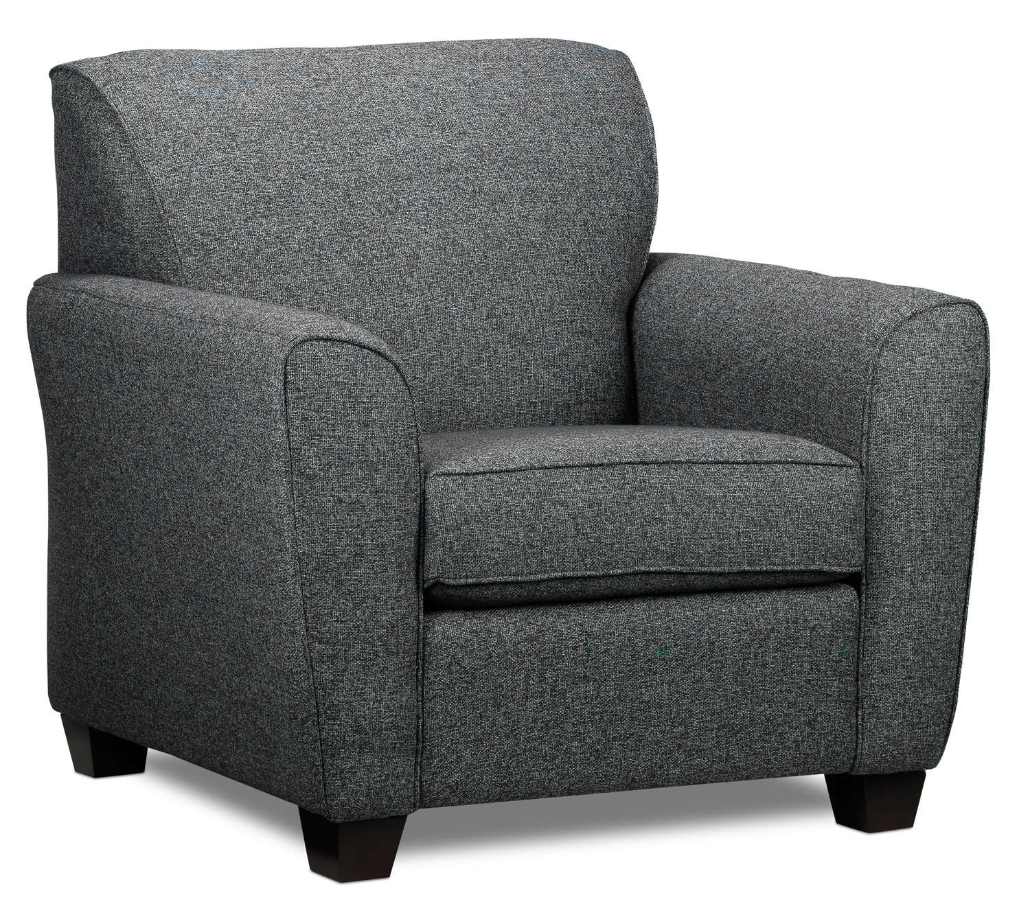 Living Room Furniture - Ashby Chair - Grey