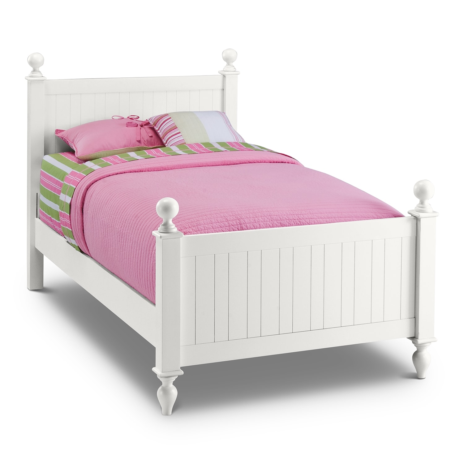 Kids White Twin Bed 1500 x 1500