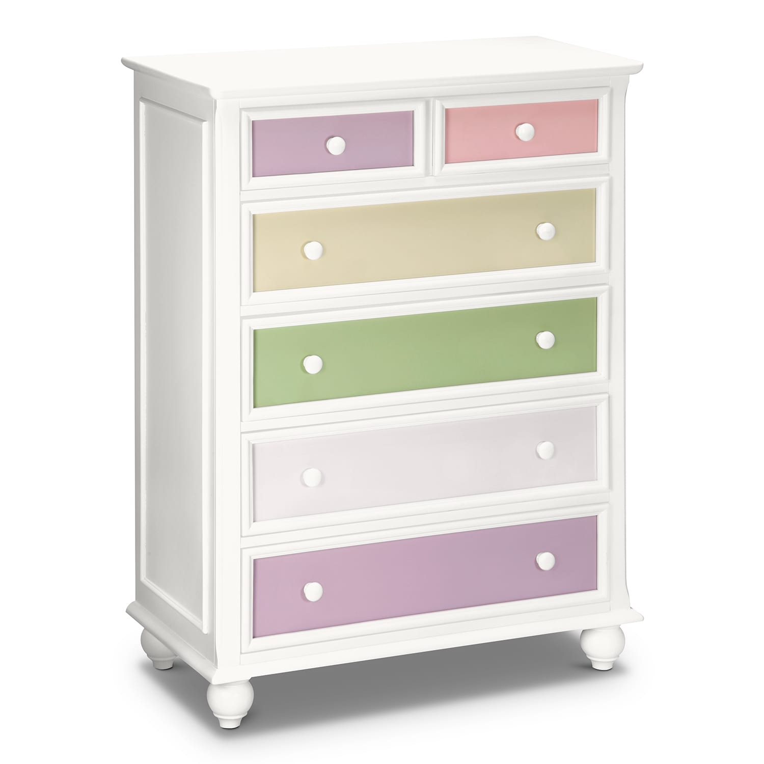 Colorworks White Kids Furniture Chest Value City Furniture