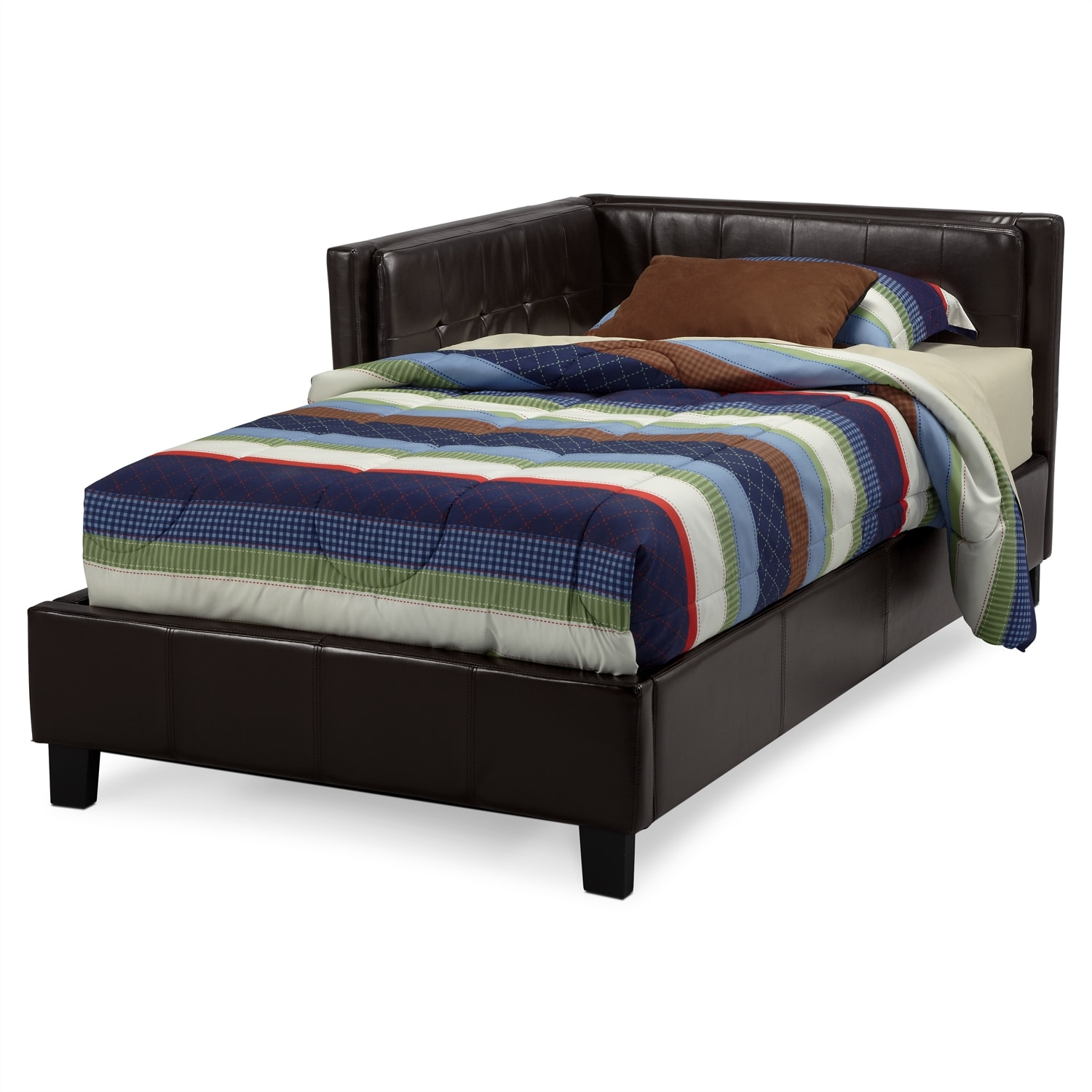 Full corner bed 28 images jordan ii full corner bed for 92879 bedroom furniture
