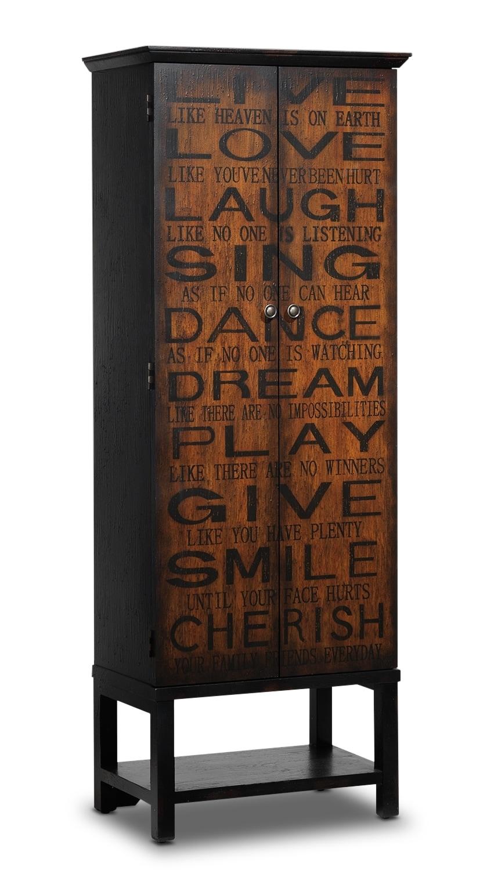 Accent and Occasional Furniture - Speranza Bar Cabinet - Espresso