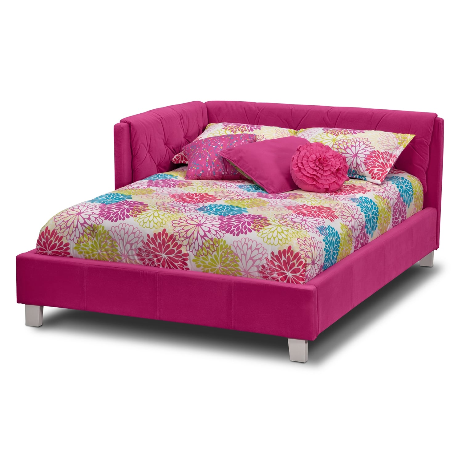 Jordan Full Corner Bed American Signature Furniture