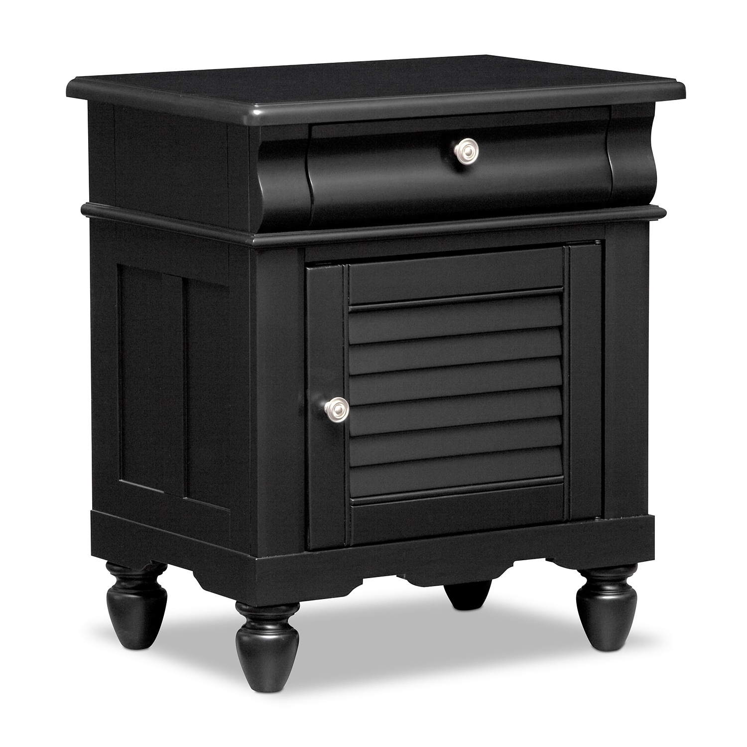 Kids Furniture - Mayflower Black Nightstand