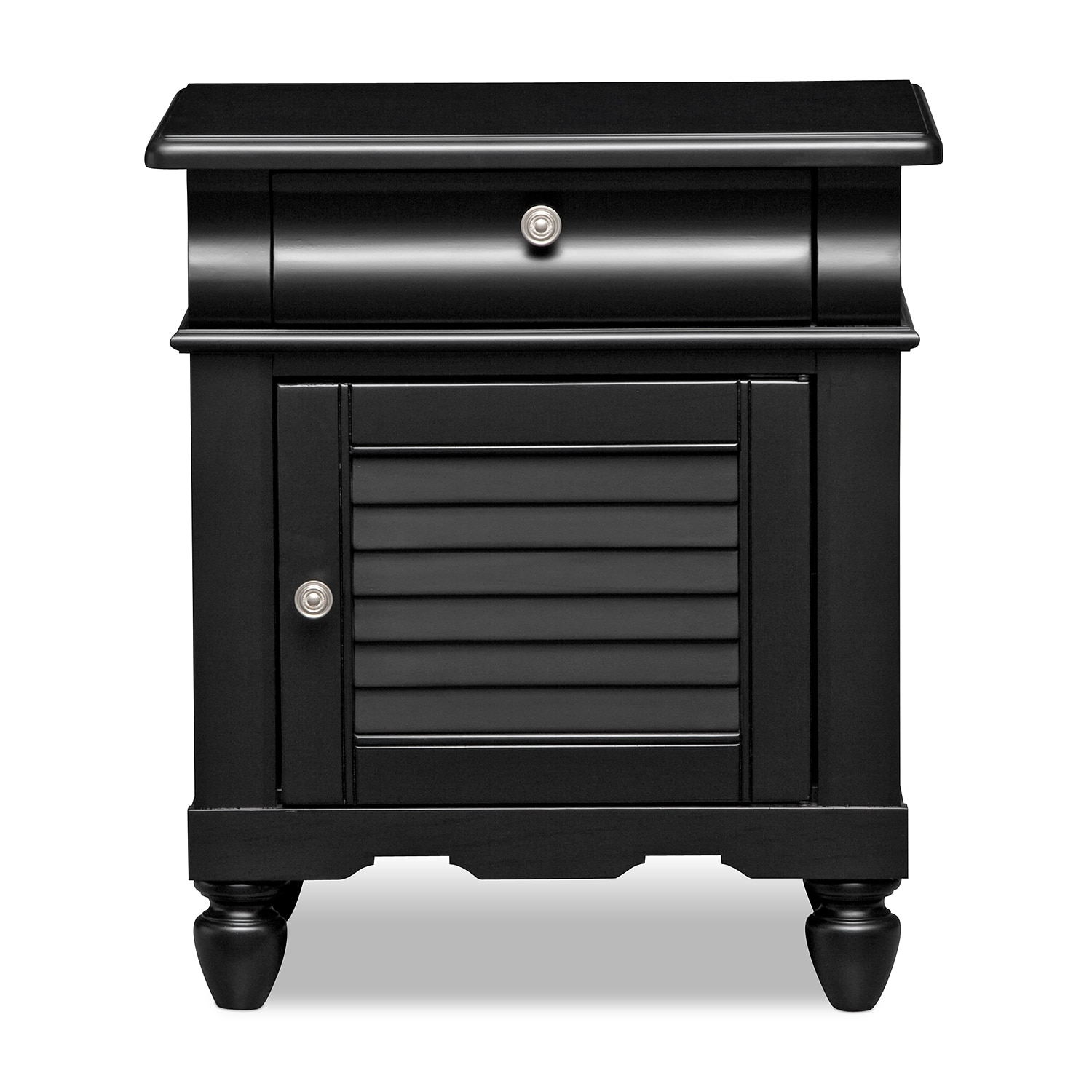 #70655B Seaside Black Nightstand American Signature Furniture with 1500x1500 px of Most Effective Black Nightstand And Dresser 15001500 wallpaper @ avoidforclosure.info