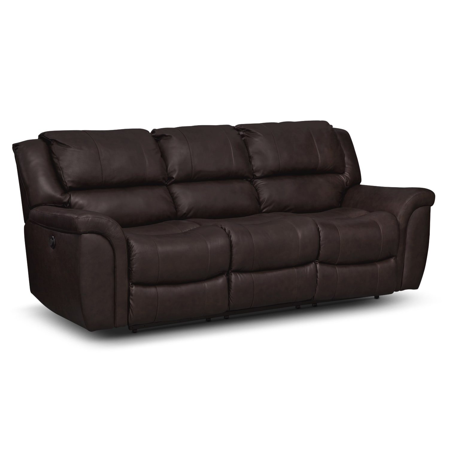Power Reclining Leather Sofa Coronado Leather Power Reclining Sofa Value City Furniture