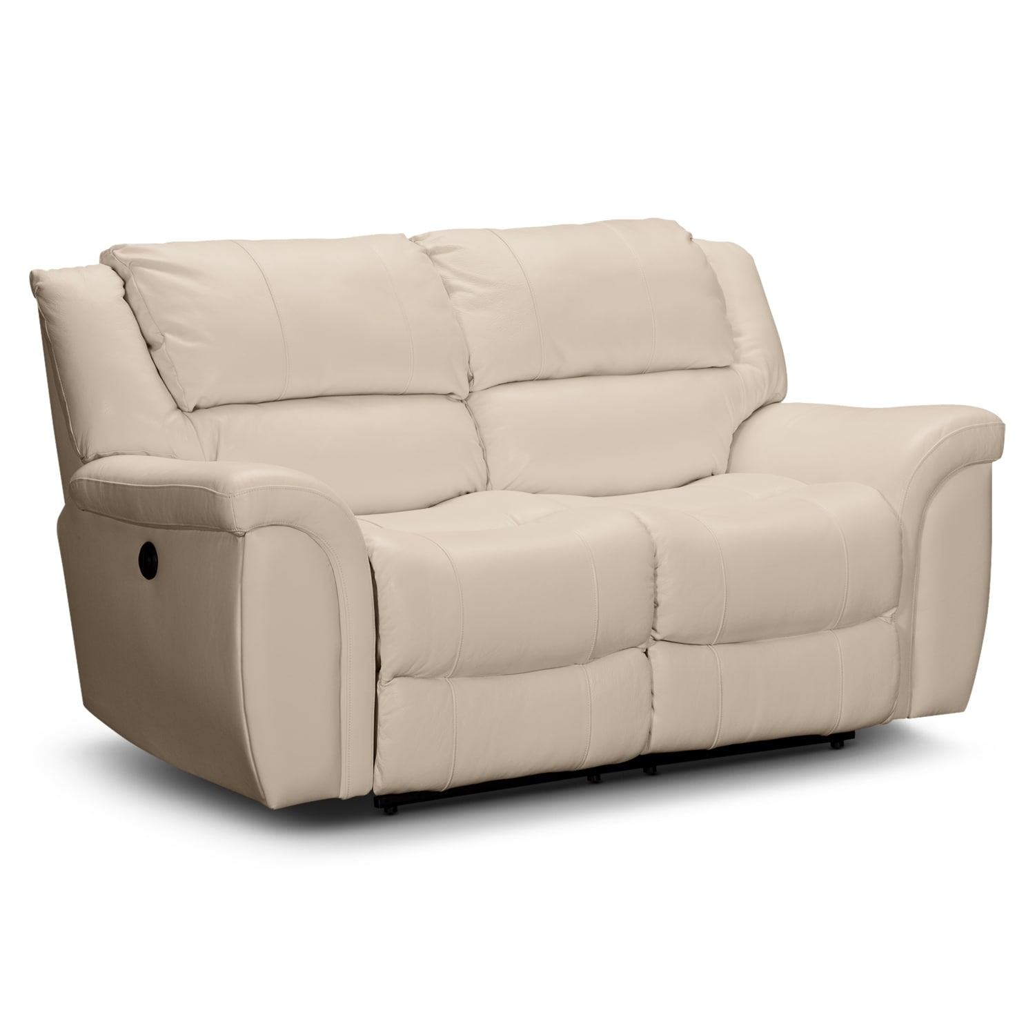 Furnishings for every room online and store furniture Reclining leather sofa and loveseat