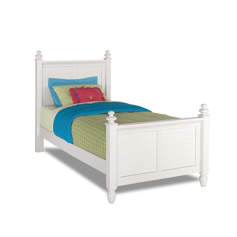 [Seaside White Full Bed]