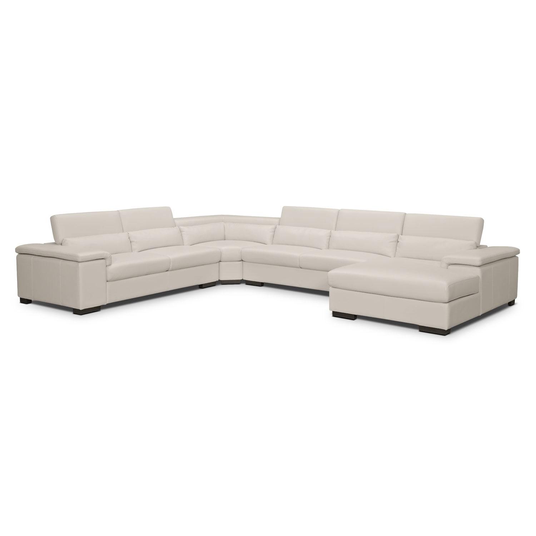 ventana 4 pc sectional american signature furniture