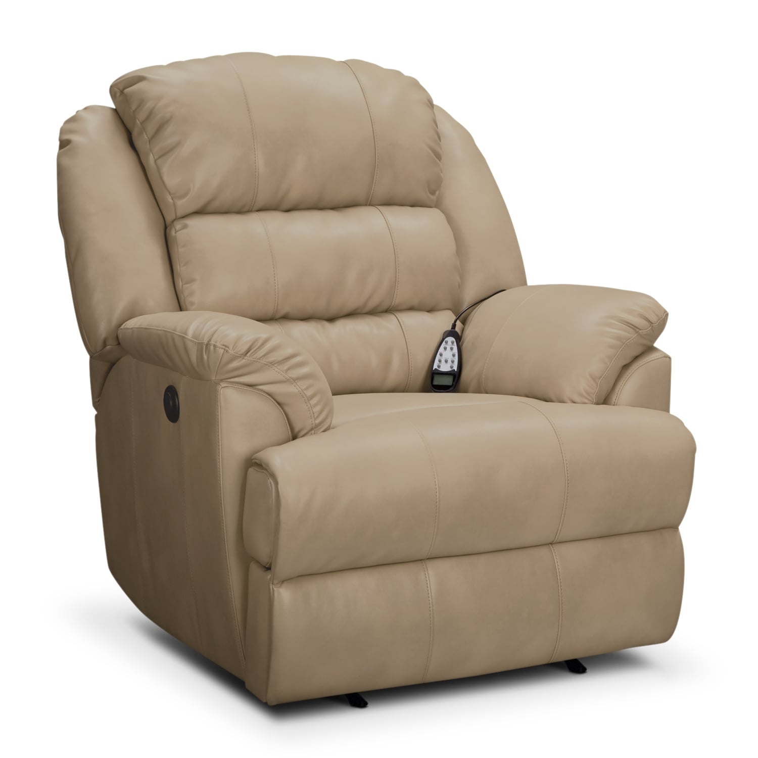 Hunter Leather Power Recliner Value City Furniture