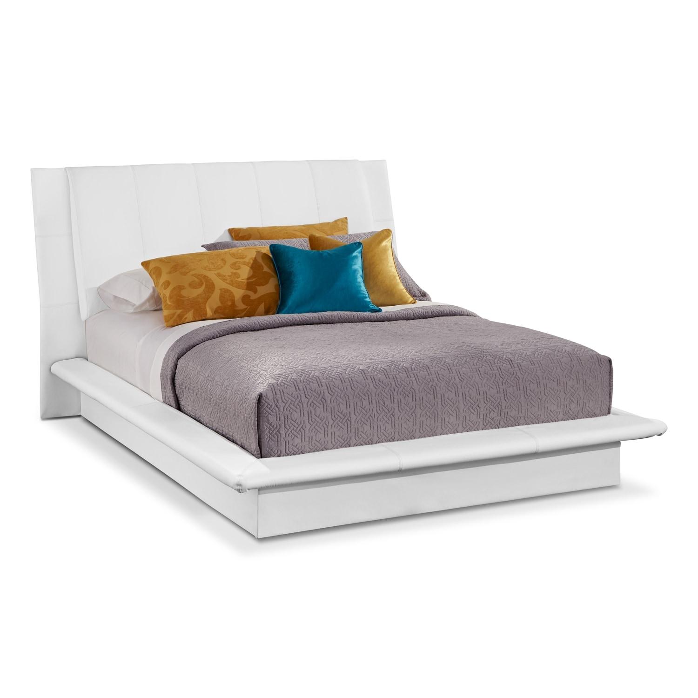dimora white bedroom 5 pc king bedroom value city furniture