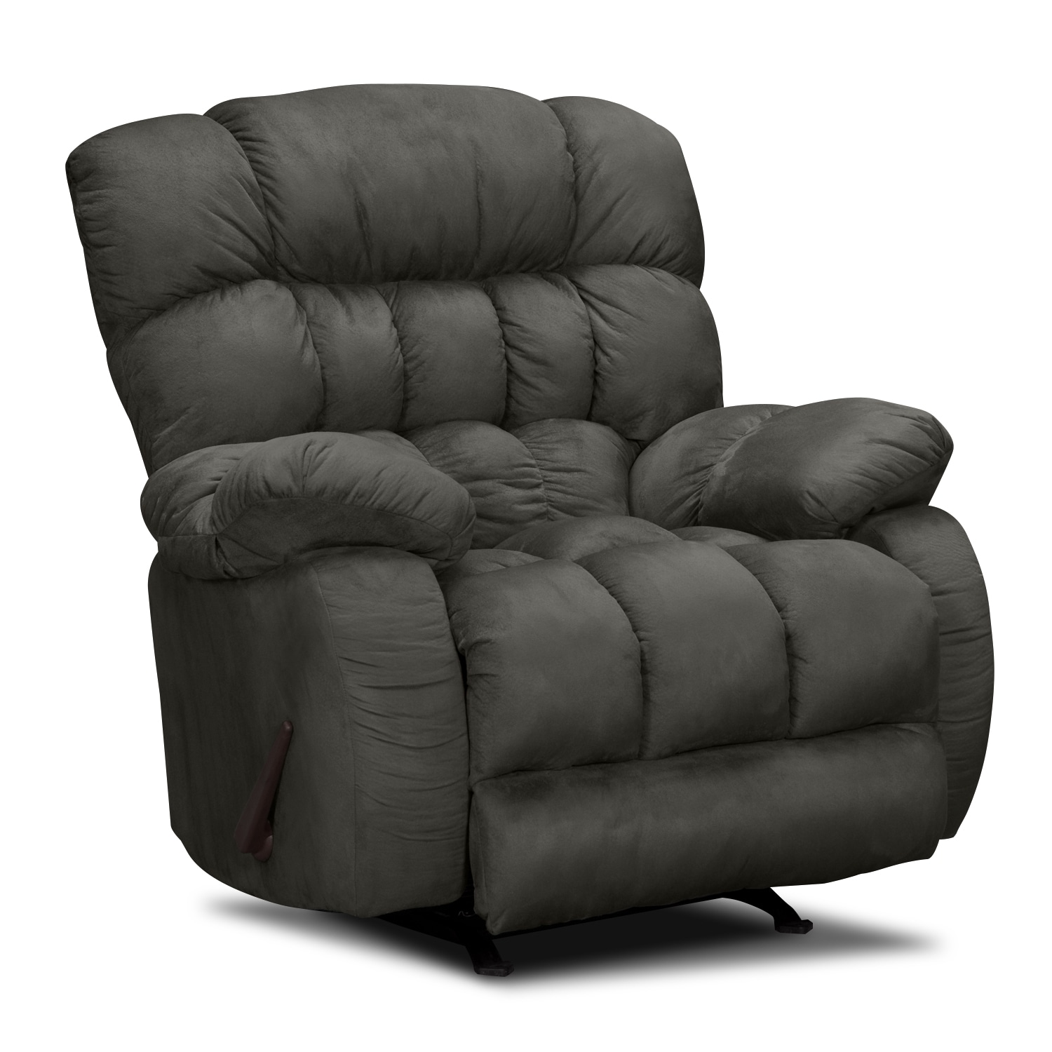 Sonic Rocker Recliner Graphite Value City Furniture