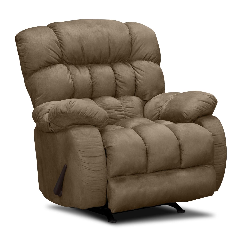 sonic rocker recliner american signature furniture. Black Bedroom Furniture Sets. Home Design Ideas
