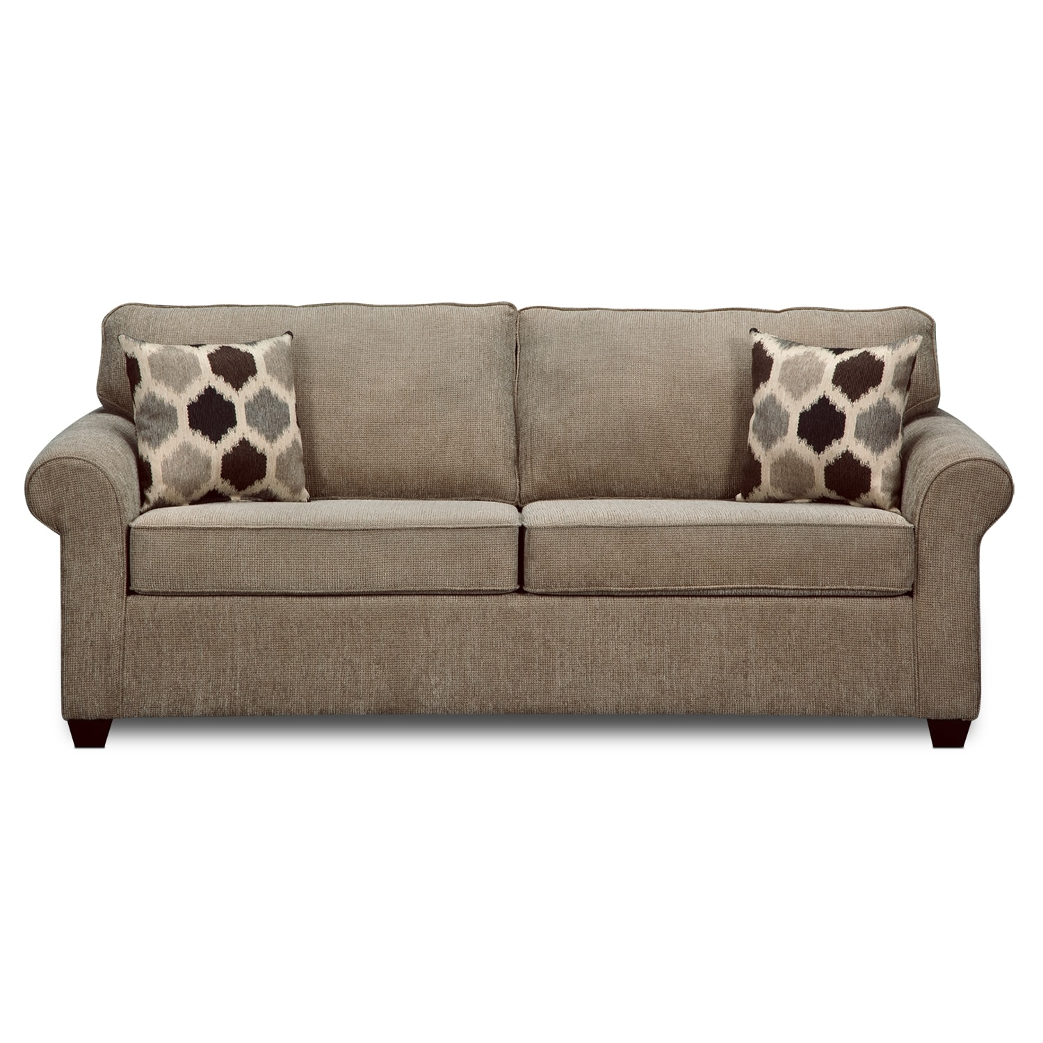 Value city furniture Sofa sleeper loveseat