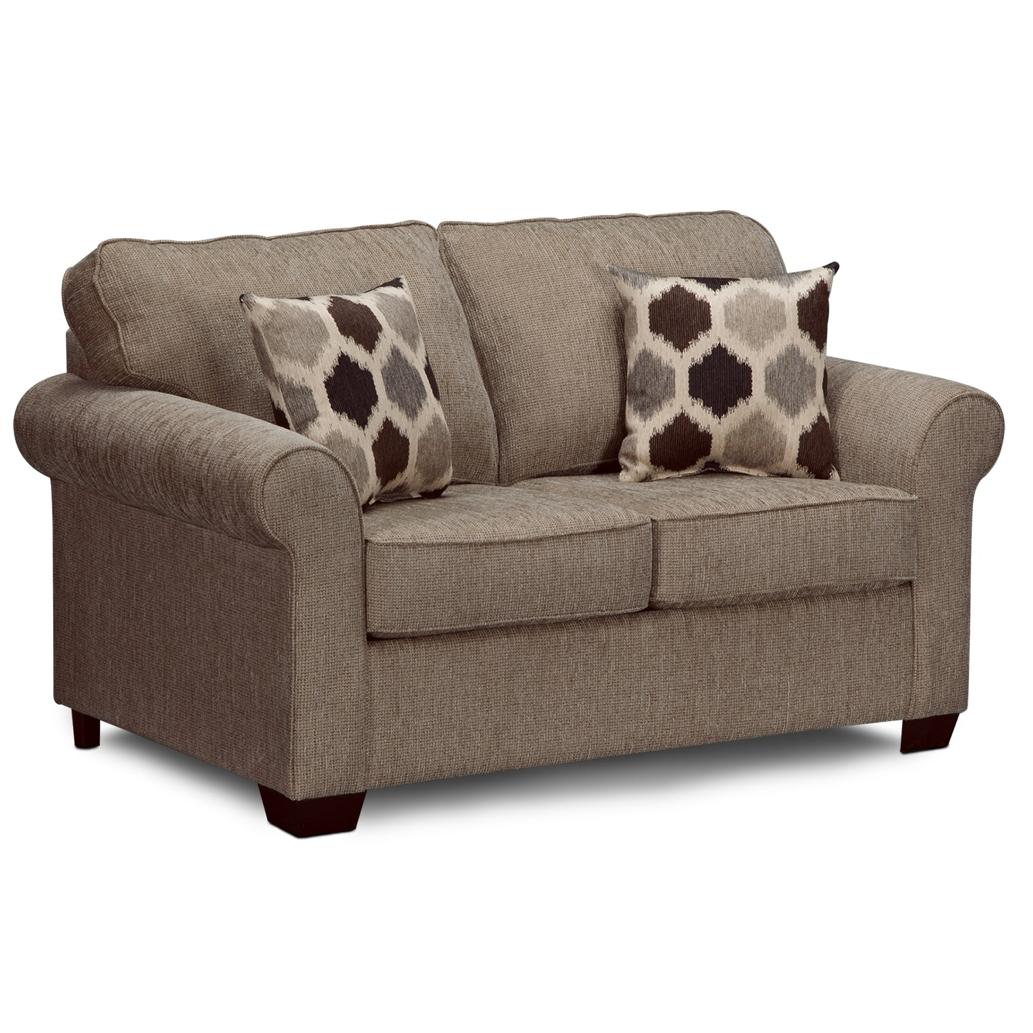 Fletcher upholstery twin sleeper sofa value city furniture Sofa sleeper loveseat