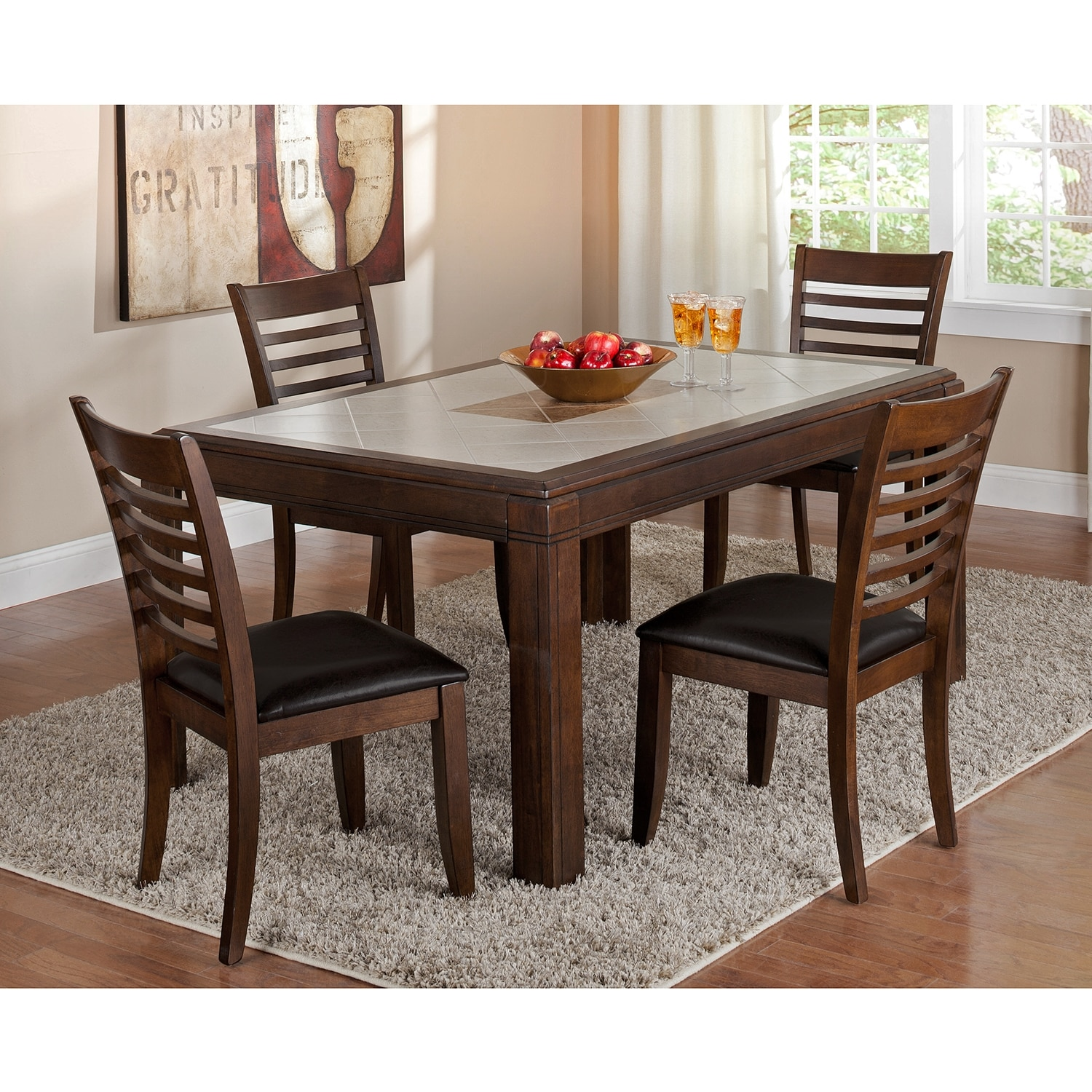 deer creek dining room table value city furniture