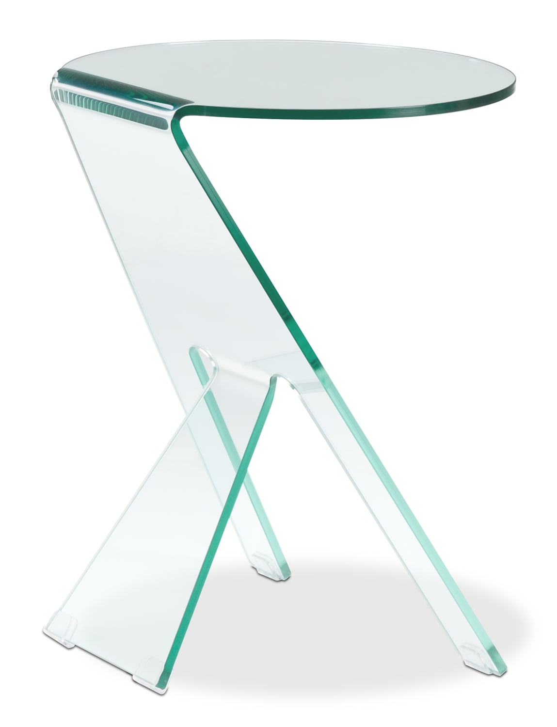 Athens End Table - Clear