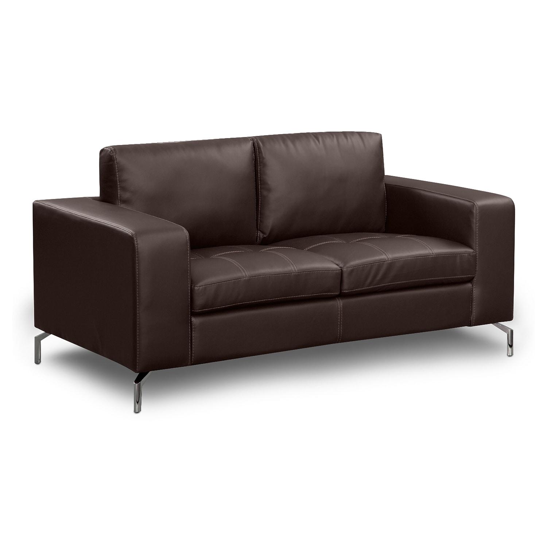 Living Room Furniture - Mirage Godiva Loveseat