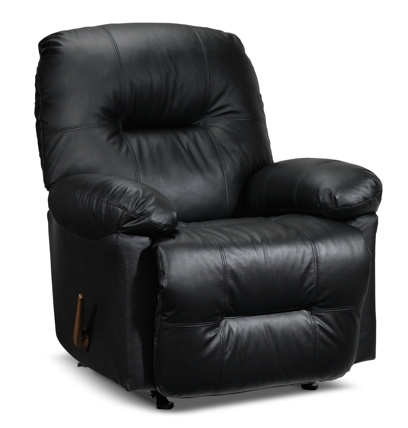 Living Room Furniture - Hunter Recliner - Black