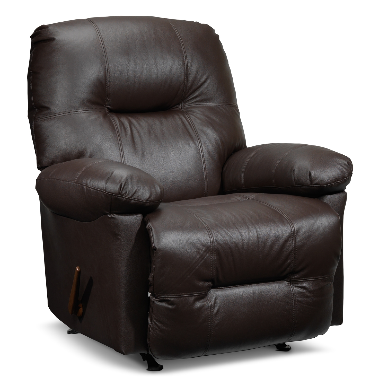 Living Room Furniture - Hunter Recliner - Chocolate