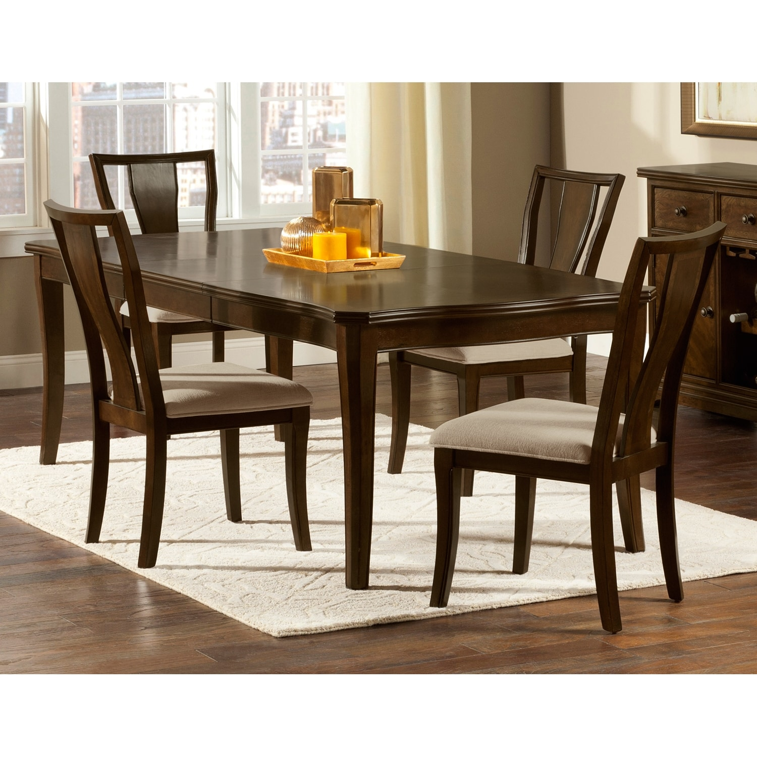 Value City Dining Room Furniture: Westin Dining Room 5 Pc. Dinette