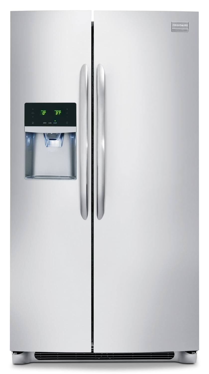 Refrigerators and Freezers - Frigidaire Gallery Stainless Steel Side-by-Side Refrigerator (22.6 Cu. Ft.) - FGHS2355PF
