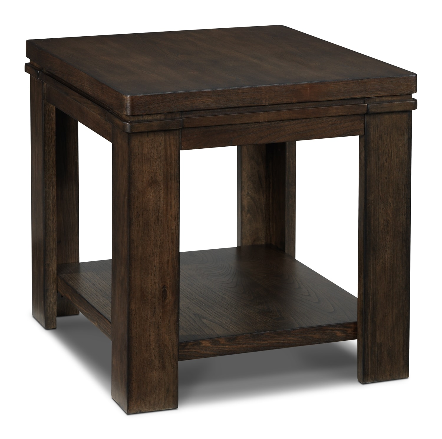 Harbridge End Table - Nutmeg