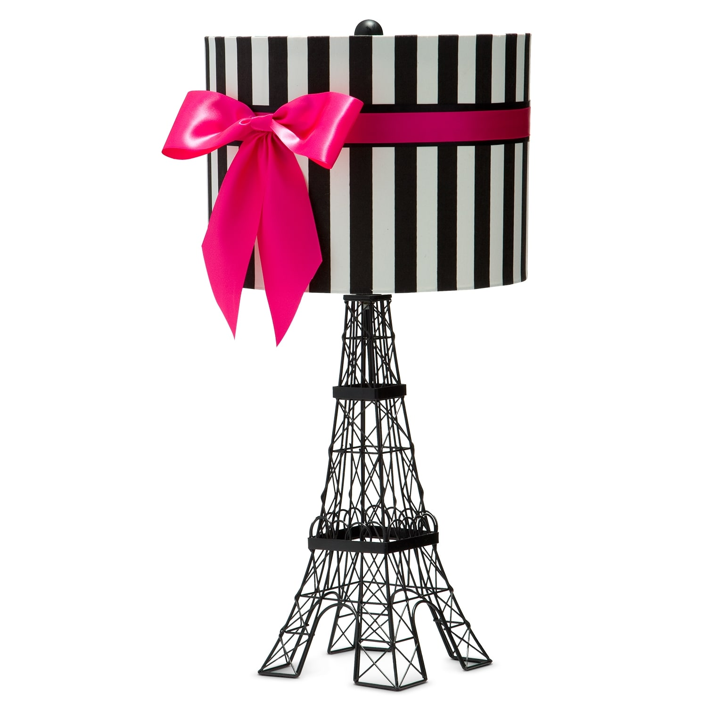 eiffel tower table lamp value city furniture. Black Bedroom Furniture Sets. Home Design Ideas