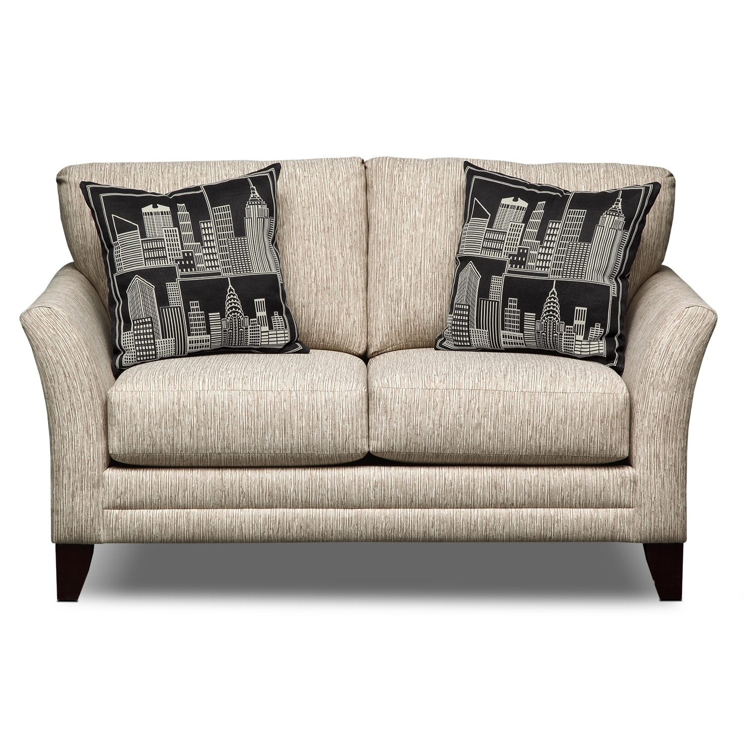 Union Square Upholstery Loveseat Value City Furniture