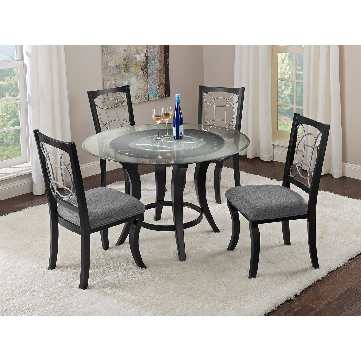 Pandora Dining Room 5 Pc Dinette Value City Furniture