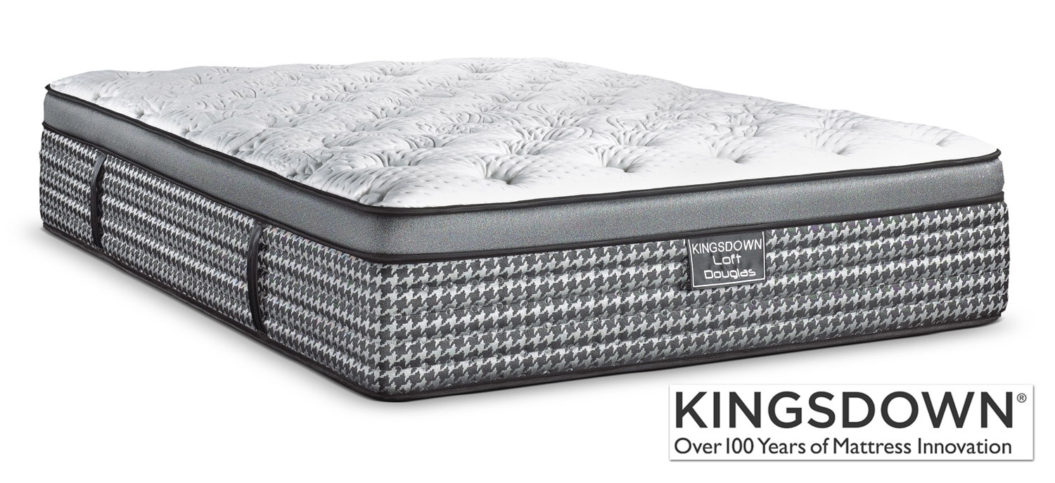 Mattresses and Bedding - Kingsdown Douglas Queen Mattress
