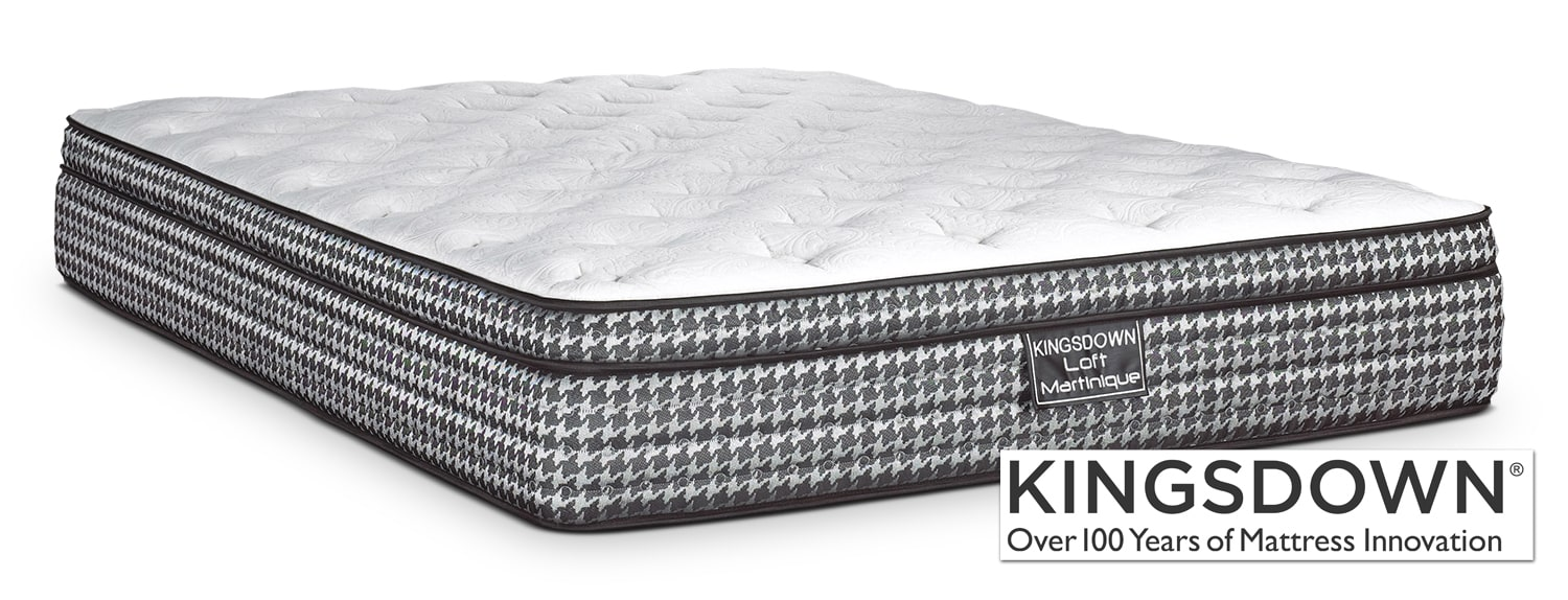 Mattresses and Bedding - Kingsdown Martinique King Mattress