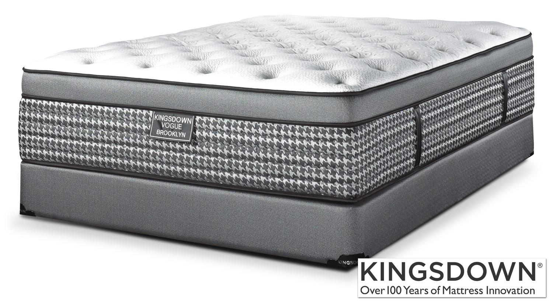 Kingsdown Brooklyn King Mattress/Boxspring Set