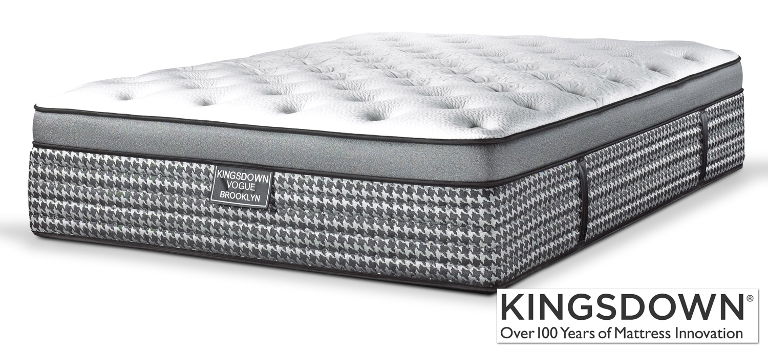 Mattresses and Bedding - Kingsdown Brooklyn Full Mattress