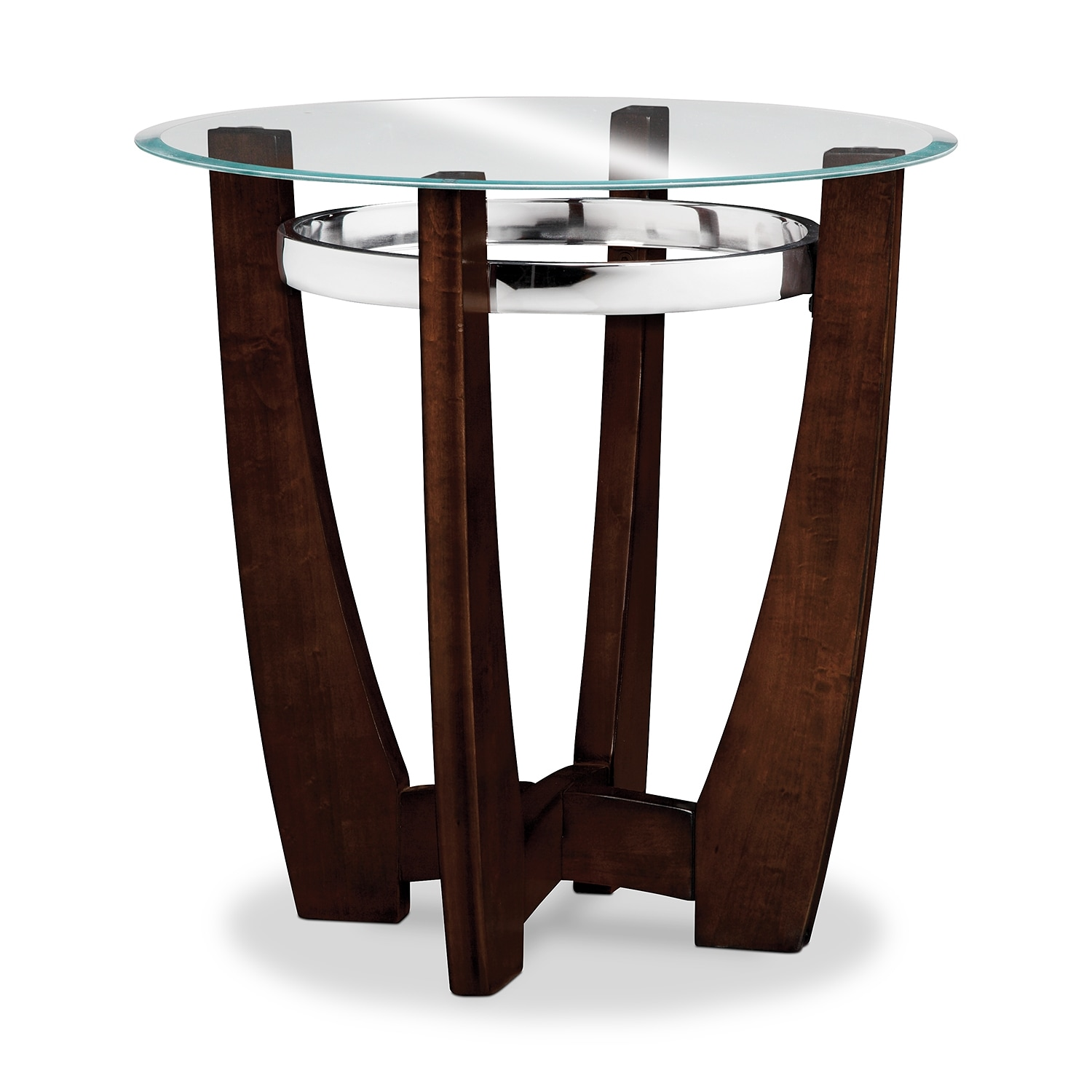 Alcove cocktail table and 2 end tables merlot value city furniture Coffee table and side table