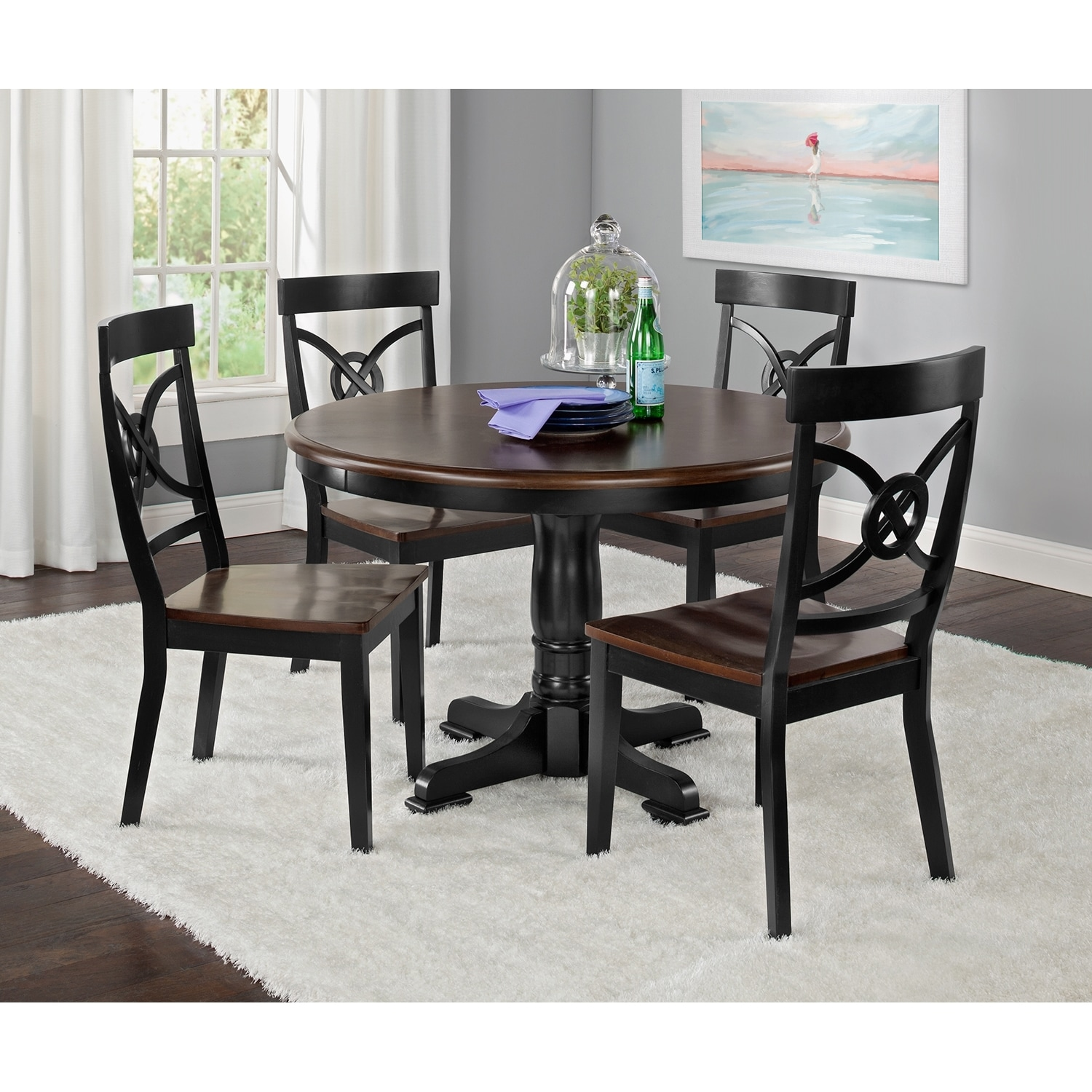 dining room furniture chelsea 5 pc dinette