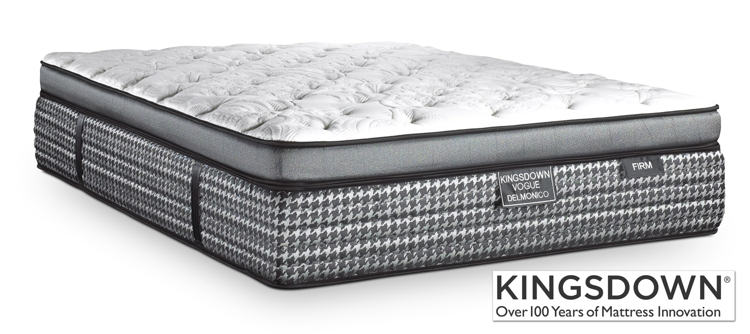 Mattresses and Bedding - Kingsdown Delmonico Firm Queen Mattress