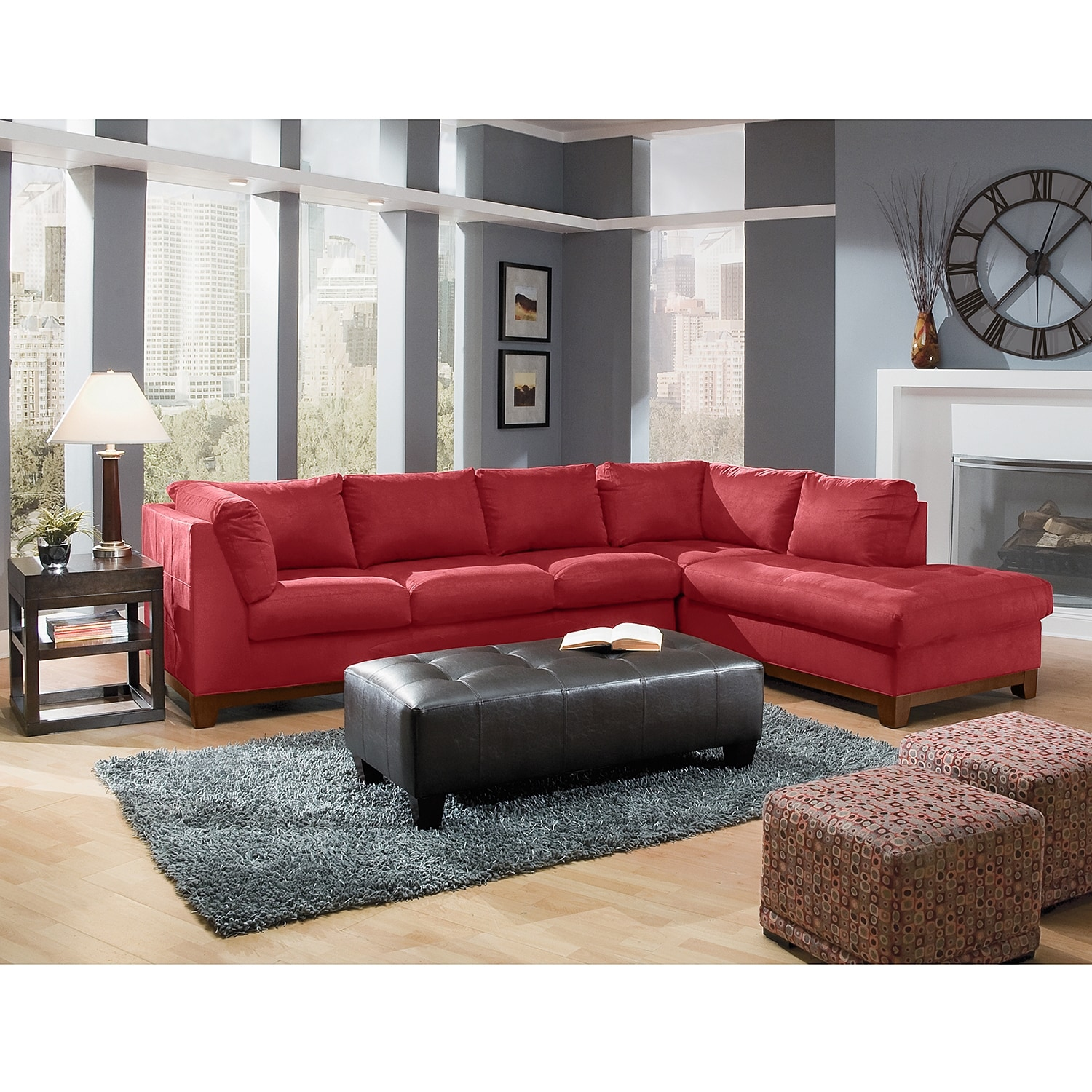 8965m Sectional End American Signature Furniture: American Signature Furniture