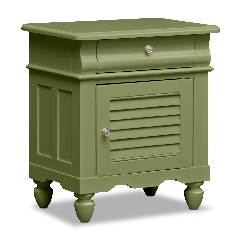 Kids Furniture - Mayflower Green Nightstand