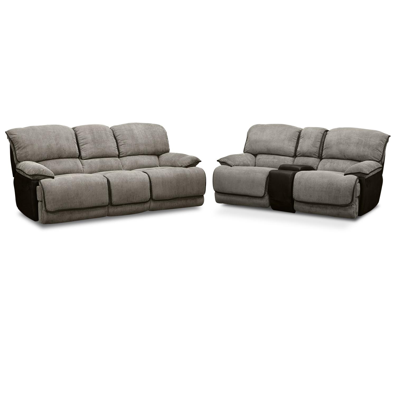 Laguna Ii Dual Reclining Sofa American Signature Furniture