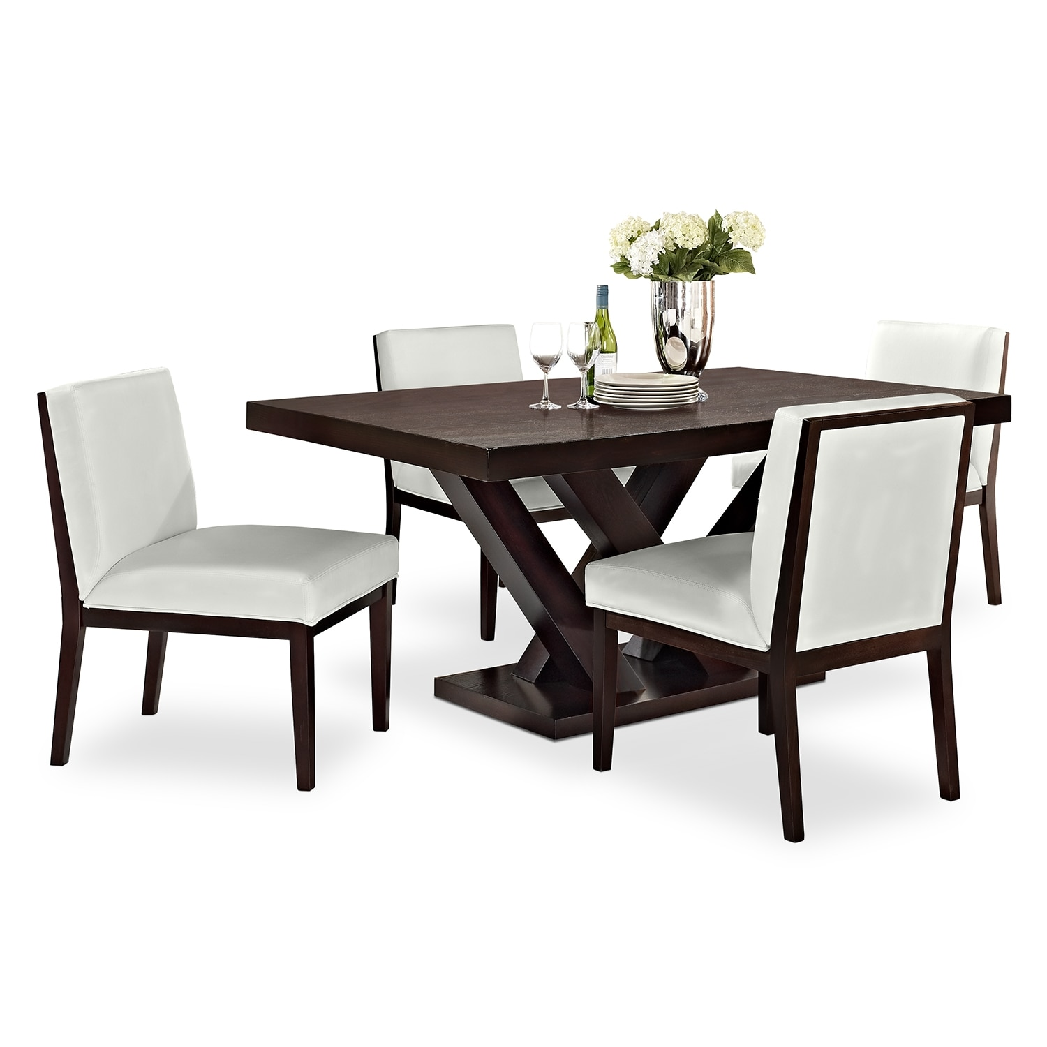 dining room furniture tempest 5 pc dining room