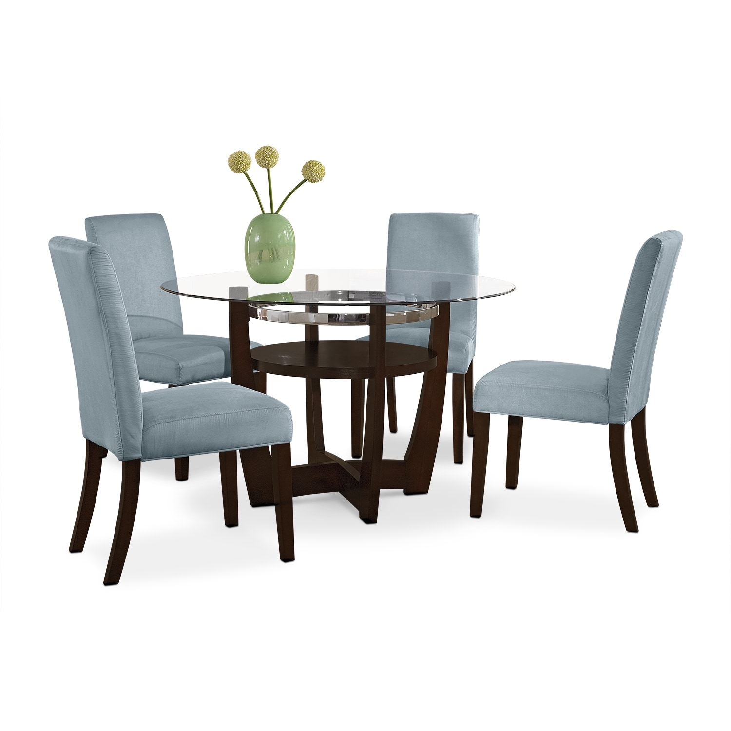 Value City Furniture Clearance Center: The Alcove Aqua Collection