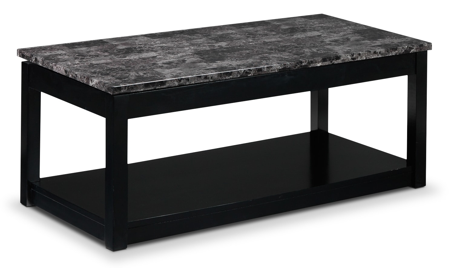 Accent and Occasional Furniture - Selena Lift-Top Coffee Table - Black