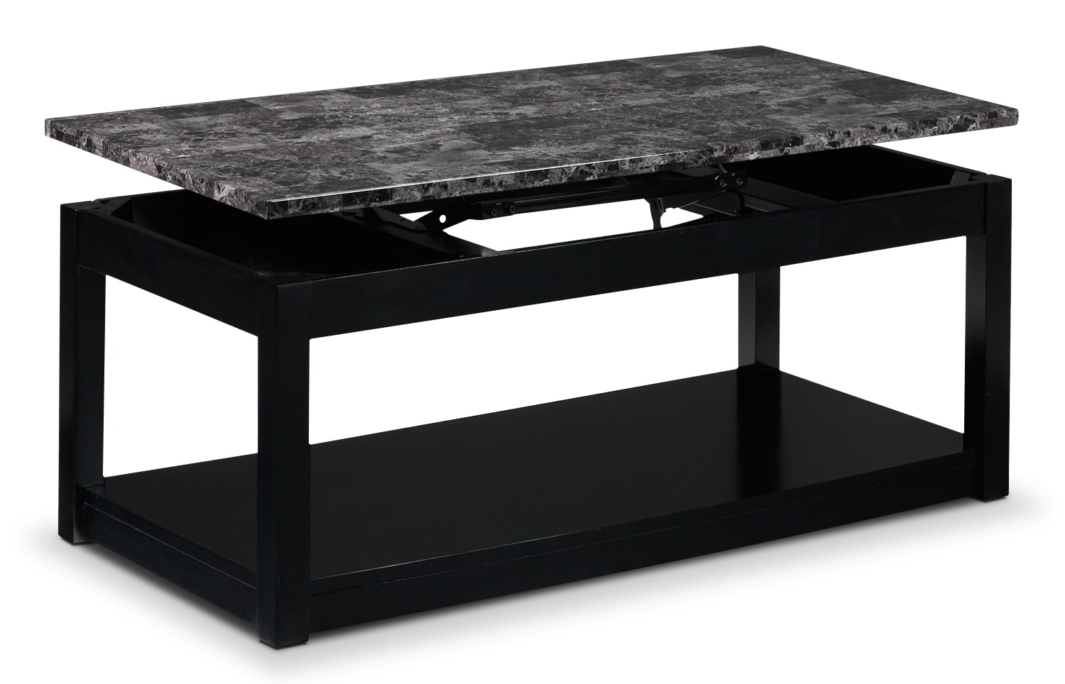 Selena lift top coffee table black leon 39 s Black lift top coffee tables