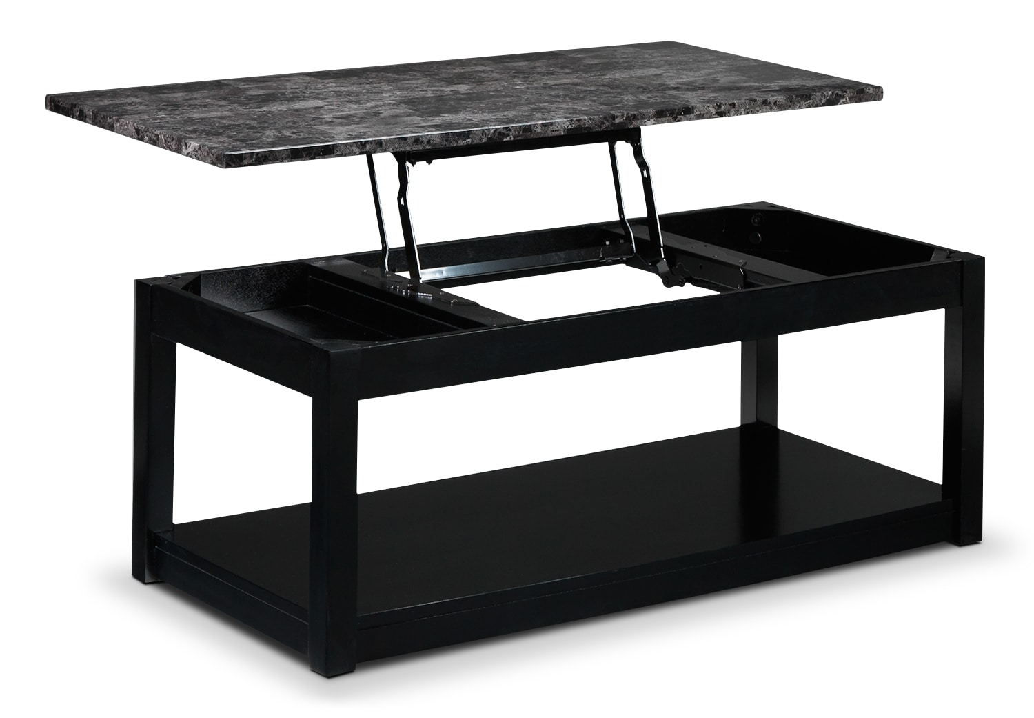 Selena Lift Top Coffee Table Black Leon 39 S