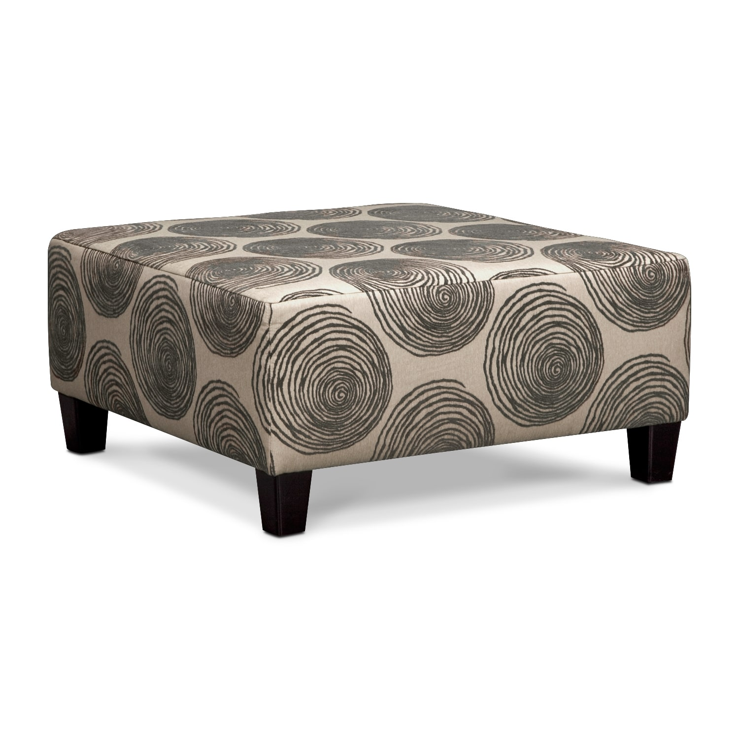 Cordelle 3 piece sectional and cocktail ottoman set gray for What is an ottoman for