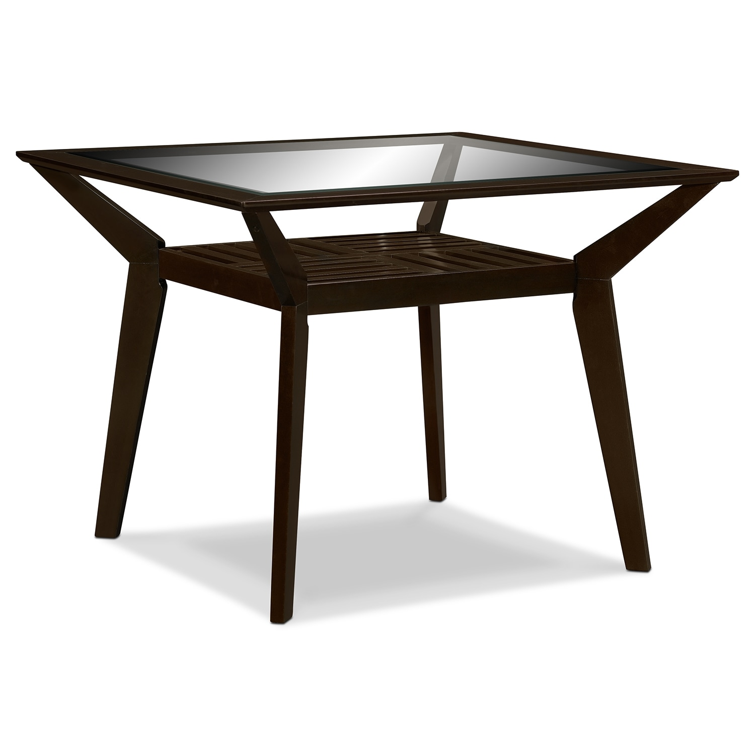 Mystic Counter Height Dining Table Merlot American