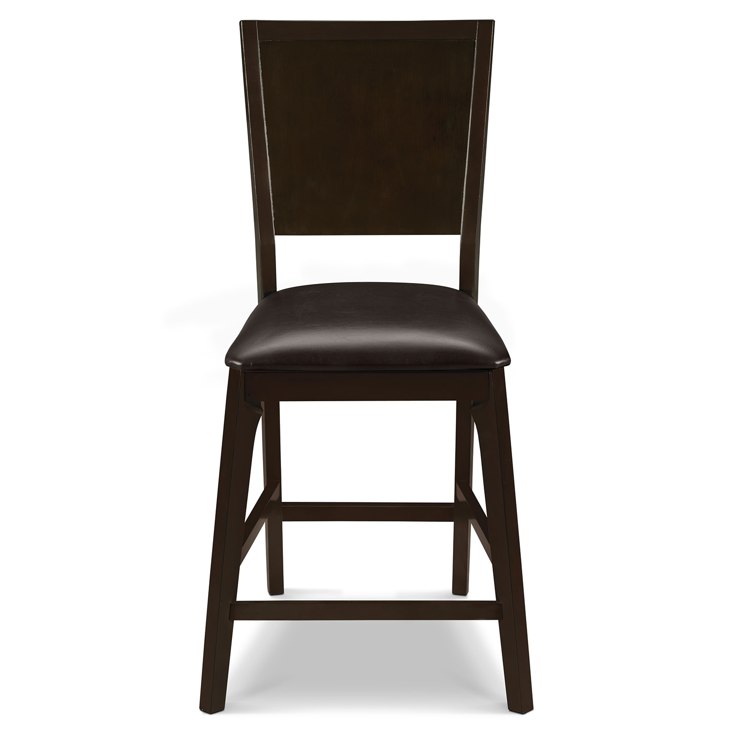 Mystic Counter Height Stool Merlot And Chocolate Value City Furniture