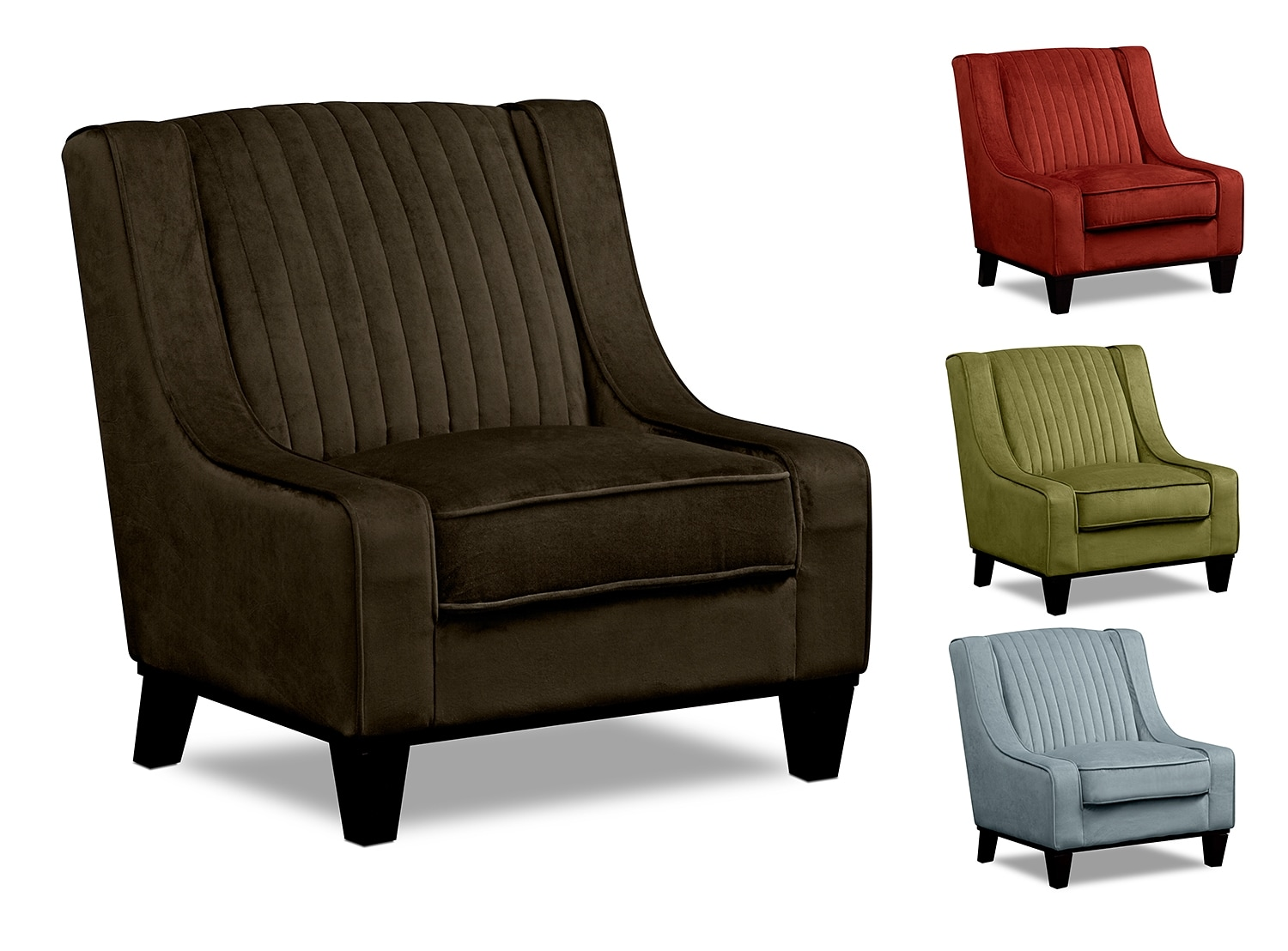 Living Room Furniture - The Whitley Collection - Accent Chair