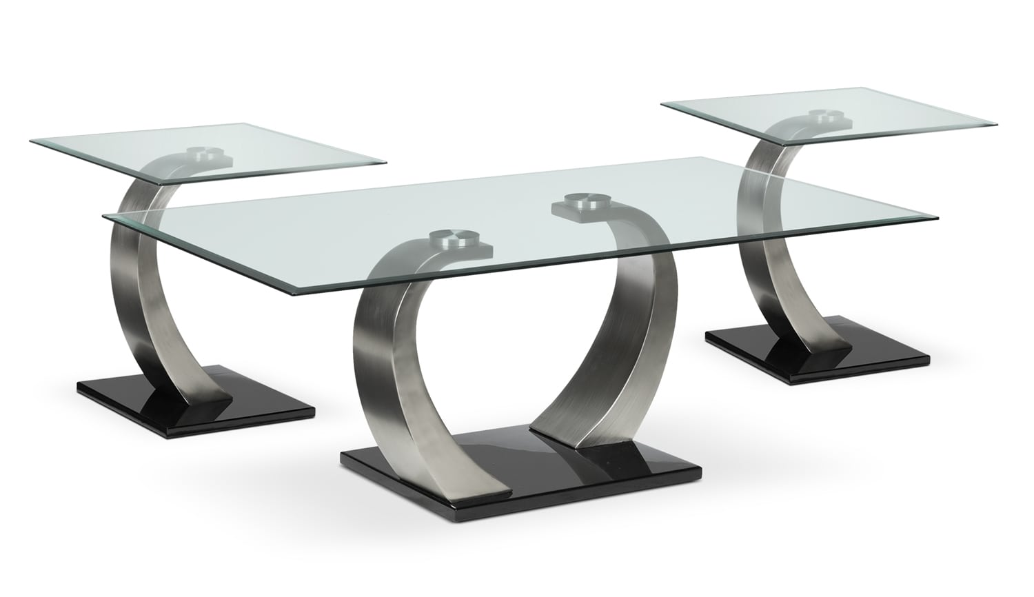 Accent and Occasional Furniture - Architect Coffee Table & Two End Tables Set